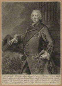 NPG D7195; William Anne Keppel, 2nd Earl of Albemarle by and sold by John Faber Jr, after  J. Fournier